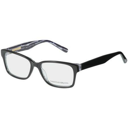 Christian Siriano Eyeglass Frames, Lui--Black Print - Walmart.com
