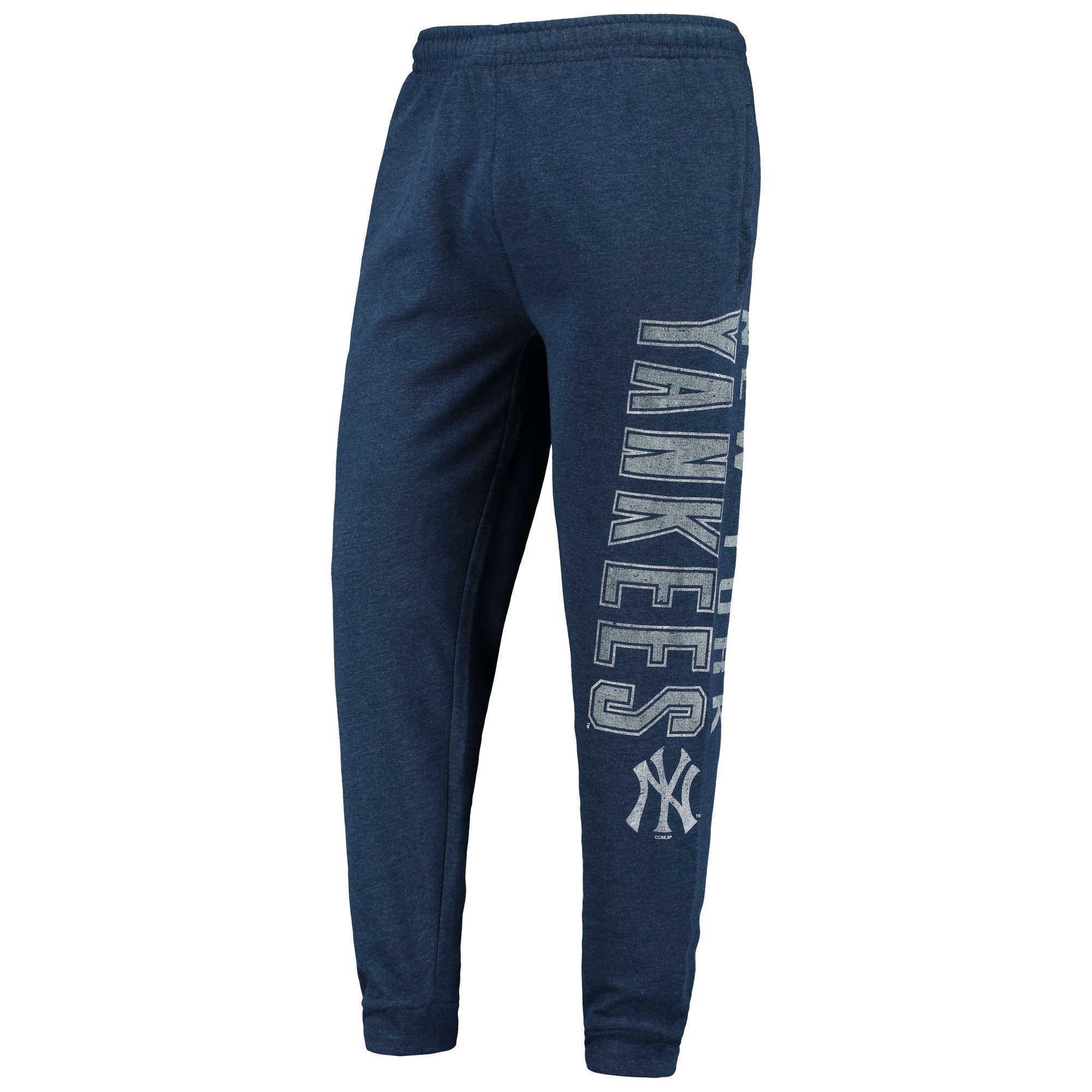 New York Yankees Concepts Sport Squeeze Play Pants - Heathered Navy