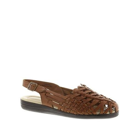 100c5c8f926b9 Softspots - Softspots Womens Tobago Leather Closed Toe Casual Strappy  Sandals - Walmart.com