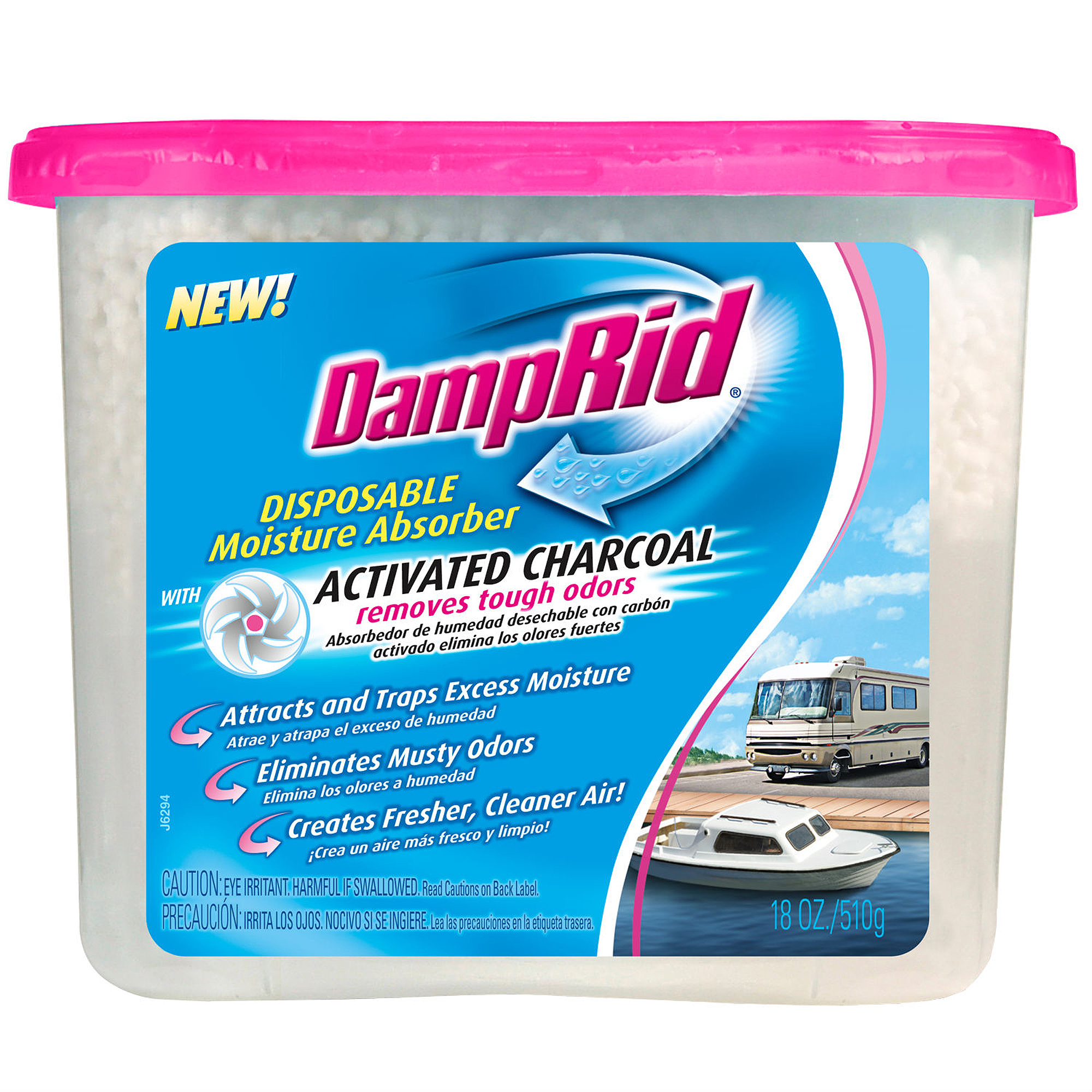 DampRid Moisture Absorber with Activated Charcoal - Walmart.com