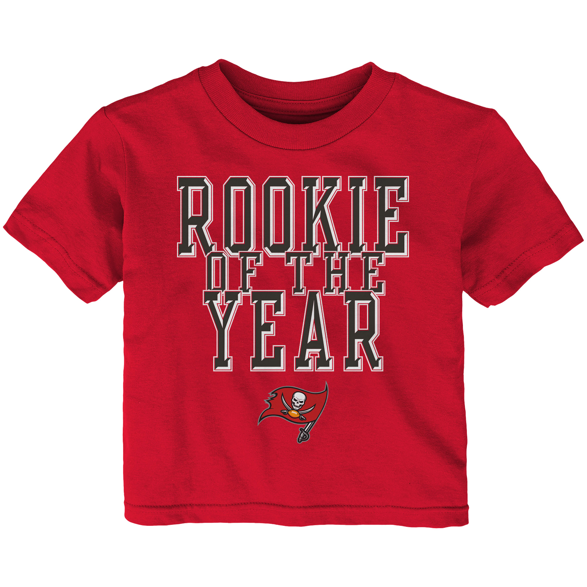 Tampa Bay Buccaneers Toddler Rookie Of The Year T-Shirt - Red