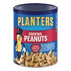 Planters Salted Cocktail Peanuts, 16.0 oz Canister