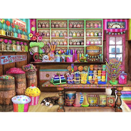 The Candy Shop Poster Print by Aimee Stewart