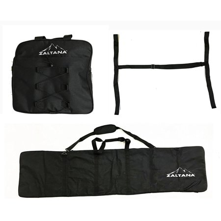 zaltana SKB25 Padded Snowboard Carier Bag Rack, Black