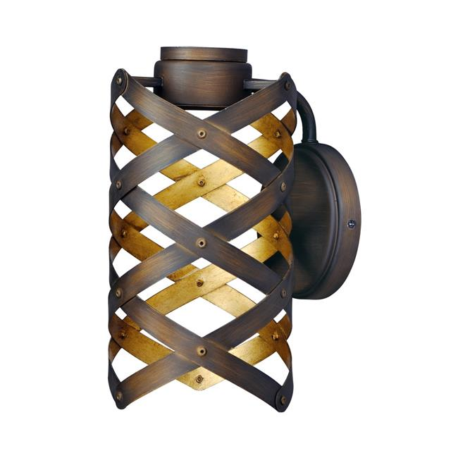 Maxim 35051BZGTGLD 11.5 x 6 in. Weave LED One Light Wall Sconce, Bronze Gilt & Gold - image 1 of 1