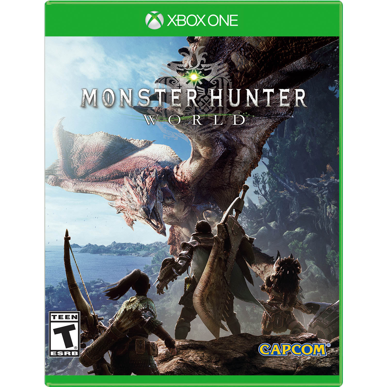 Monster Hunter World, Capcom, Xbox One, REFURBISHED/PREOWNED