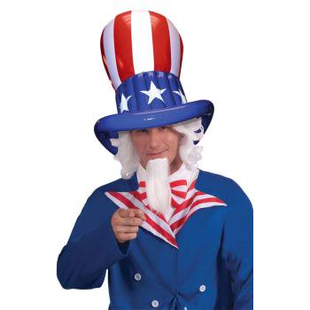 UNCLE SAM INFLATABLE HAT