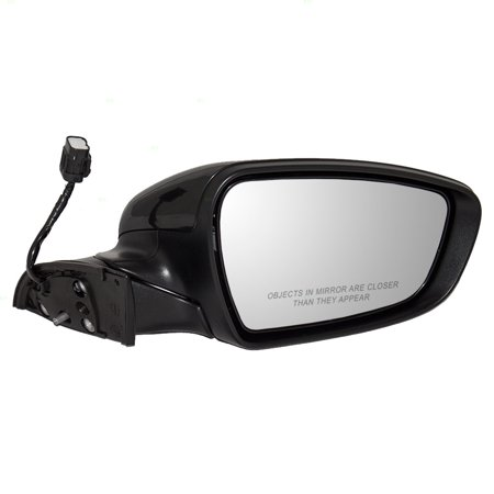 - Passengers Power Side View Mirror Heated Ready-to-Paint for 14-16 Kia Forte Forte5 87620A7200