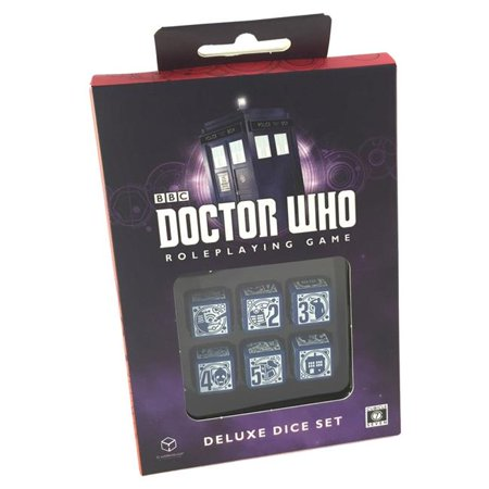 Cubicle 7 Entertainment CB71130 Doctor Who Deluxe Dice Set - image 1 de 1