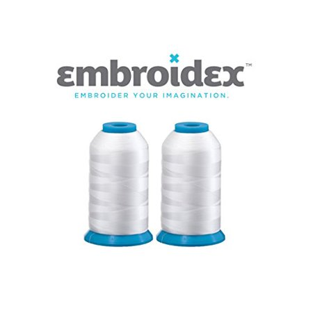 Set Of 40 Huge White Spools Bobbin Thread For Embroidery Machine And Amazing White 5500 Sewing Machine