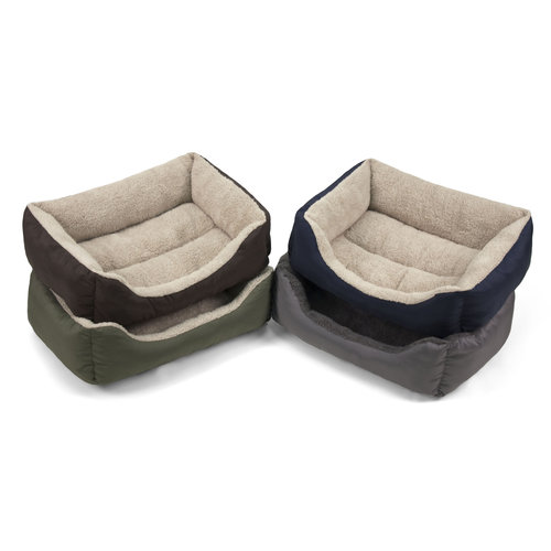 """Soft Spot Small Lounger Pet Bed, 21""""Wx17""""D, 1ct (Color Will Vary)"""