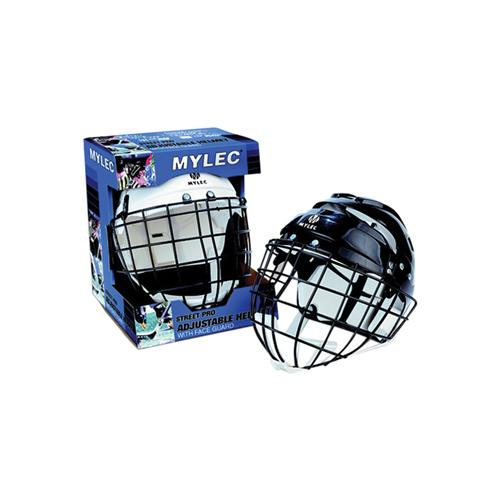 Mylec 0151 Senior Helmet with Wire Face Cage