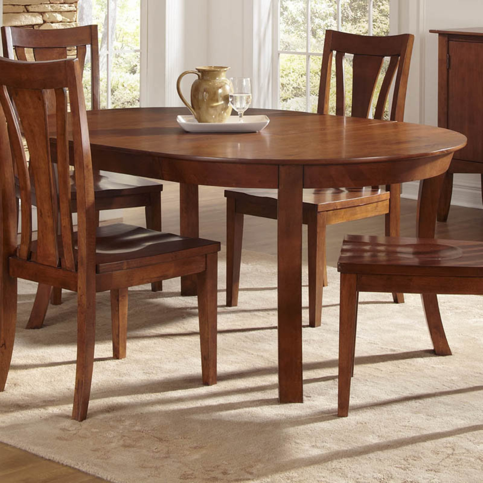A-America Grant Park Oval Dining Table