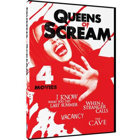 Queens Of Scream: I Know What You Did Last Summer / When A Stranger Calls / Vacancy / The Cave
