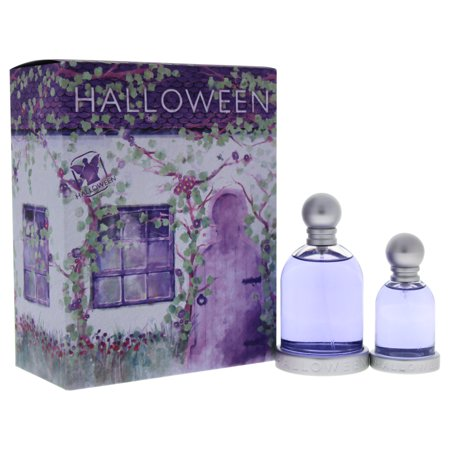 Halloween Perfume Set (Halloween by J. Del Pozo for Women - 2 Pc Gift Set 3.4oz EDT Spray, 1oz EDT)
