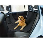 "Oxford Tear-Proof Hammock Dog Car Seat Cover, Black, 58""L x 51""H"