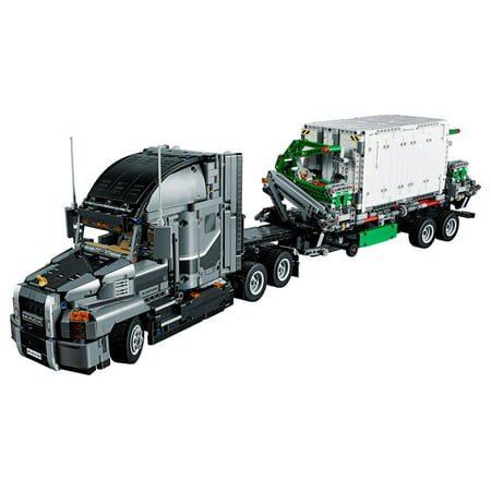 LEGO Technic Mack Anthem 42078 Semi Truck Building Kit and Engineering Toy for Kids and Teenagers, Top Gifts for Boys (2595 Piece) - Mack Truck Hats
