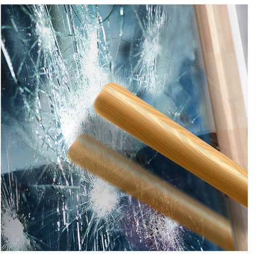 BDF S4MS15 Security and One Way Mirror Silver 4 Mil Window Film 30in X 24ft by BuyDecorativeFilm