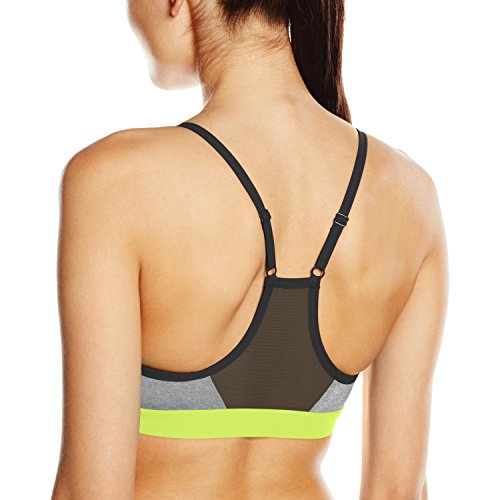 cfebb7fc0f Nike - Nike Womens Pro Indy Sports Bra Dark Grey Volt 620273-064 ...
