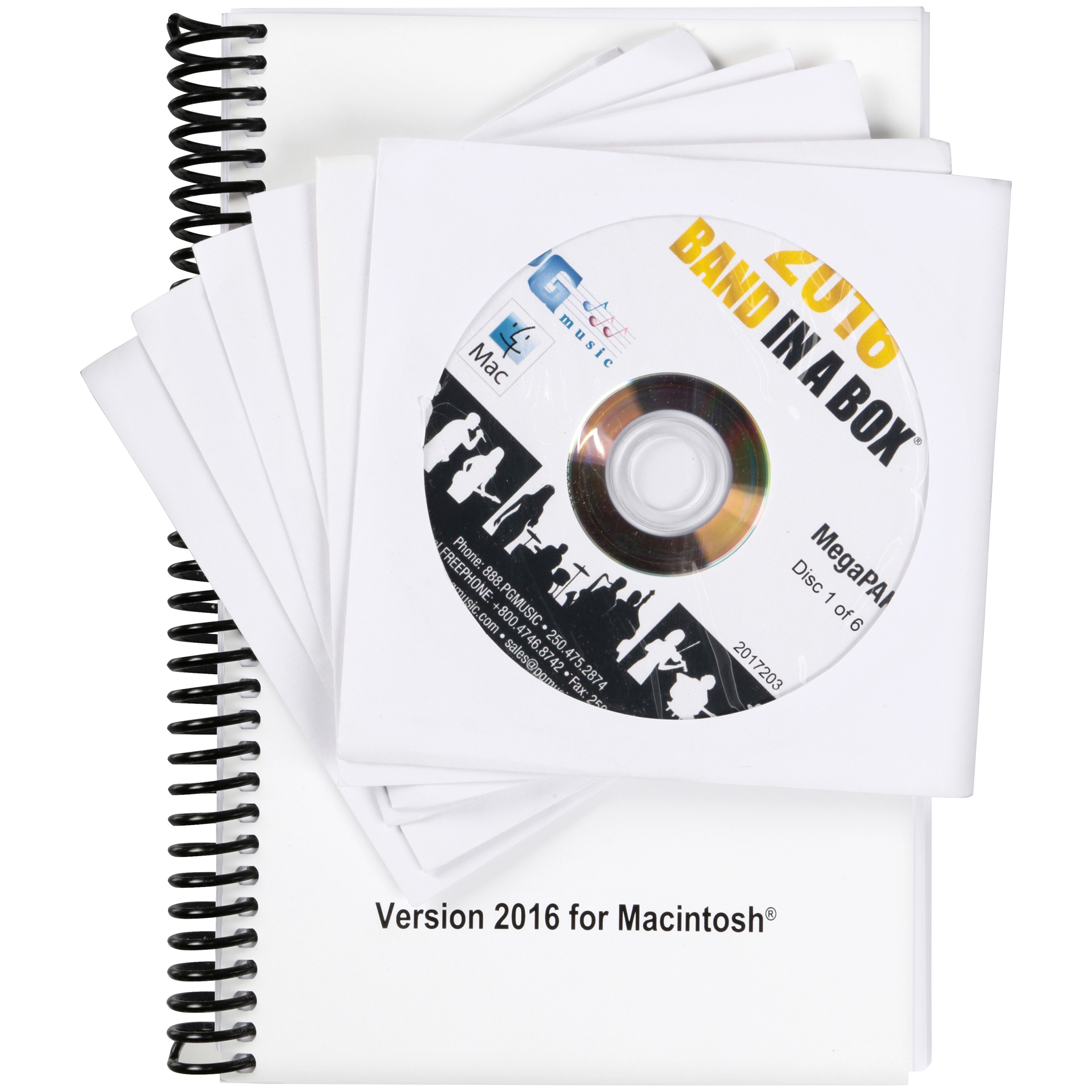 Band in a Box® Intelligent Music Accompaniment Software MegaPAK