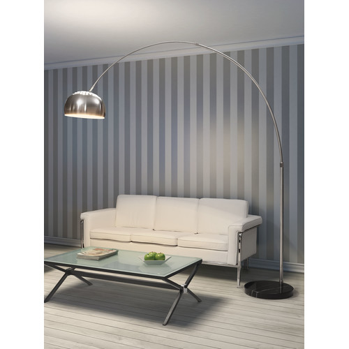 dCOR design Spectral 88'' Arched Floor Lamp