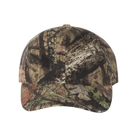 Mossy Oak Reversible Hat (Outdoor Cap 6-Panel Hat, Mossy Oak Break Up Country )