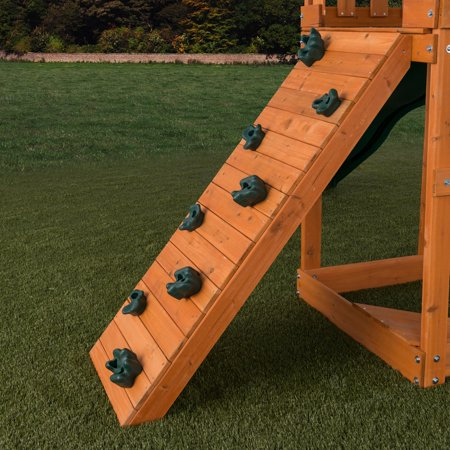 Creative Cedar Designs Playset Climbing Rocks (set of 4)- Green