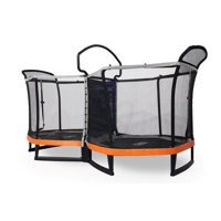Bounce Pro Battle Zone Two 6.5' Trampoline w/Safety Enclosure