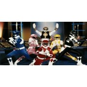 Power Rangers Photo License Plate