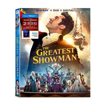 Greatest Showman  Blu Ray   Dvd