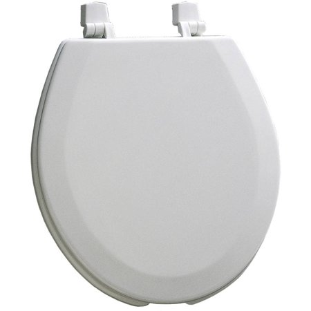 Mayfair White Commercial Toilet Seat With Cover Walmart Com