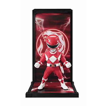 Tamashii Nations Bandai Buddies Ranger Mighty Morphing Power Rangers Action Figure, Red - Power Ranger Red