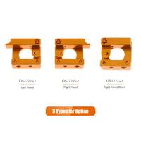 Aibecy MK8 Extruder Aluminum Alloy Block DIY Kit for 1.75mm Filament Extrusion 3D Printer Accessories Parts, Right Hand Short
