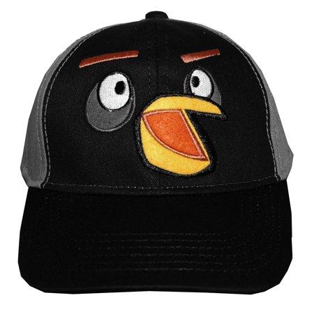 f13e51331e0 Angry Birds Rovio Black Bird Face Video Game Adjustable Toddler ...