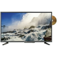 "Sceptre 32"" Class 720P HD LED TV with Built-in DVD Player E325BD-SR"