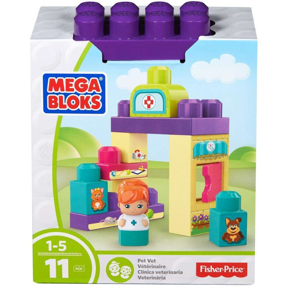 Mega Bloks First Builders Veterinarian Block Buddy