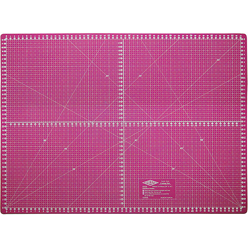 "Double-Sided Rotary Cutting Mat, 22"" x 16"""