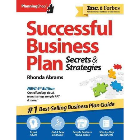 Selling business plans