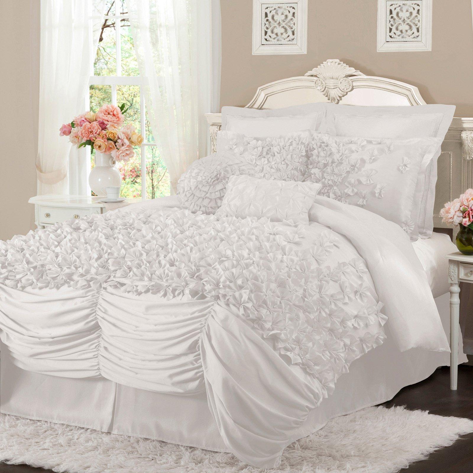 Lucia 4-Piece Bedding Comforter Set