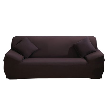 Stretch Fabric Sofa Slipcover 2 3 seater, Elastic Sectional Sofa Cover  Slipcover Protector Couch Pure Color For Moving Furniture Living Room