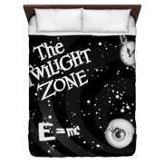 The Twilight Zone Another Dimension Queen Duvet Cover White 88X88