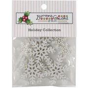 4747 BUTTONS GALORE THEME BUTTON HOLIDAY BLIZZARD