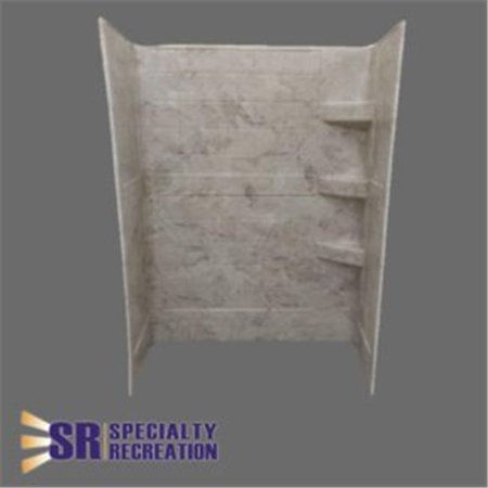 S Recreation SW2432GT Grand Shower Wall Panel - 24 x 32 x 66 in.