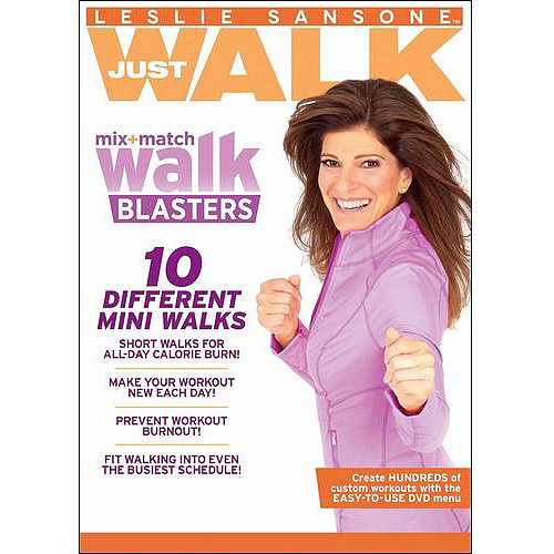 SANSONE LESLIE-MIX & MATCH WALK (DVD)