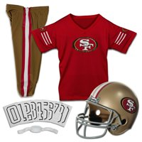 24dfb899a Product Image Franklin Sports NFL San Francisco 49ers Youth Licensed Deluxe  Uniform Set