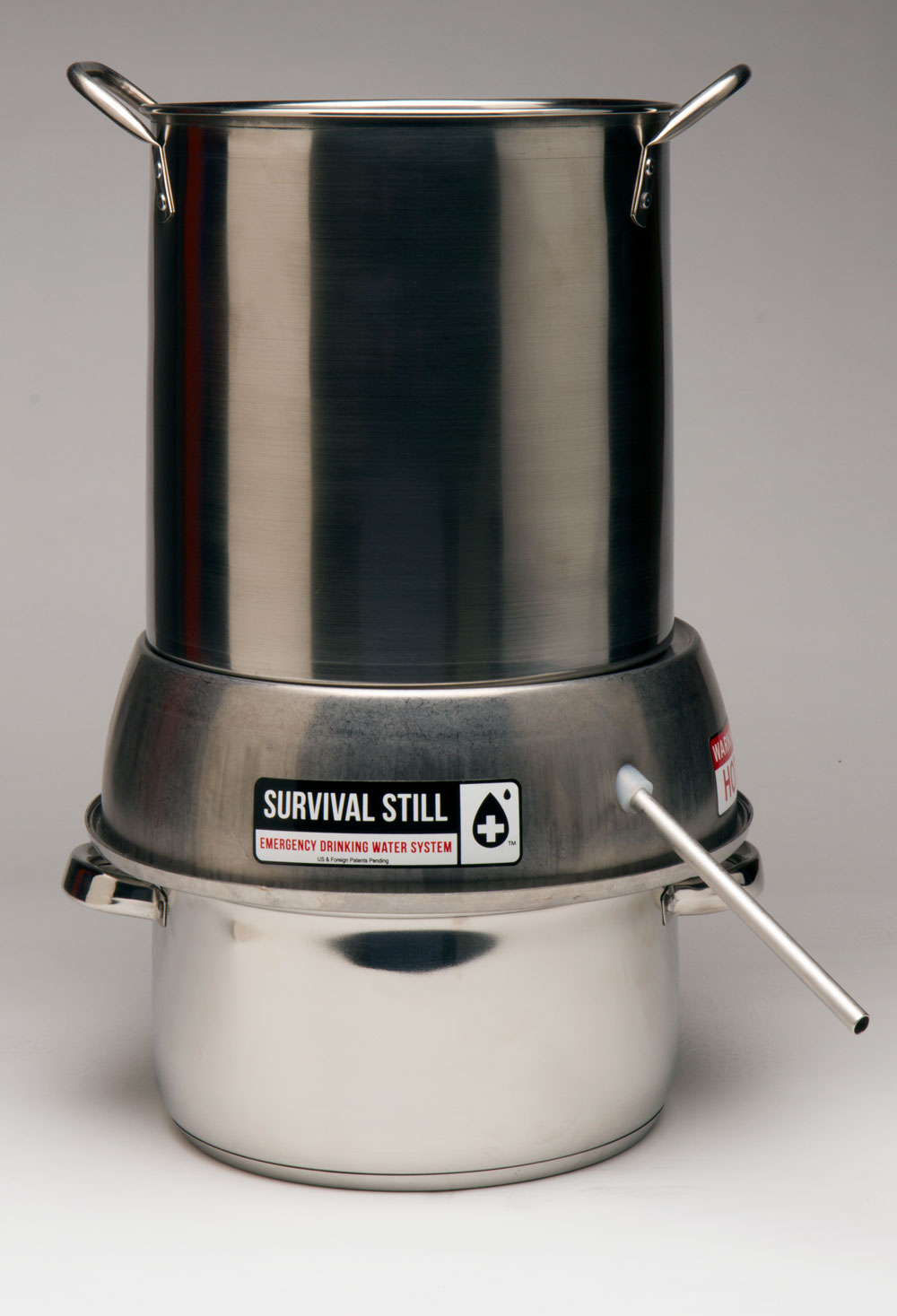 Survival Still Non-Electric Water Purification System with Pots by Survival Still