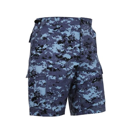Rothco Camouflage BDU Shorts, Sky Blue Digital -