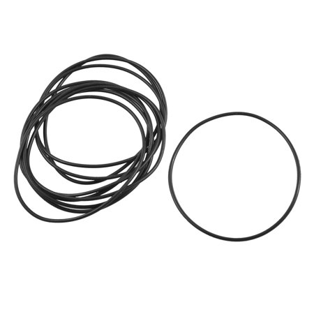 Unique Bargains 10 Pcs 55mm Inside Dia 1.5mm Thick Oil Filter O Ring Seal Gasket Washer - image 1 of 1