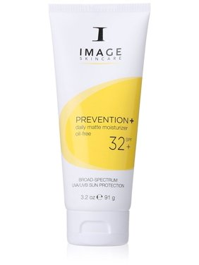 ($40 Value) Image Skin Care Prevention+ Daily Matte Moisturizer Oil-Free SPF 32 Sunscreen, 3.2 Oz