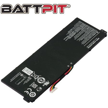 BattPit: Laptop Battery Replacement for Acer Aspire V3-371-55GS, AC14B3K, AC14B8J, AC14B8K, KT.00403.027, KT.0040G.004 - image 1 of 1